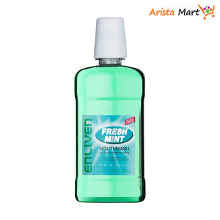 Mouthwash 6in1 Fresh mint (Green)   500ml