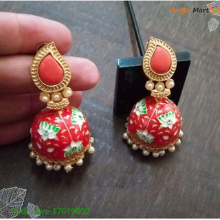 Kundan Jhumka (Imported From Pakistan)
