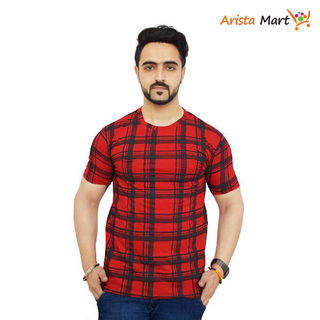 Elegant Designer Men's Cotton Printed T-Shirts