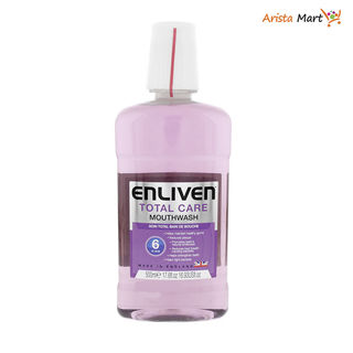 Enliven Mouthwash 6in1 Cool mine Total Care (Purple) 500ml