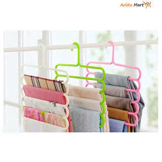Useful Clothing Hangers Pack Of 3
