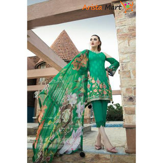 GULL JEE MISHAL Branded Three Piece