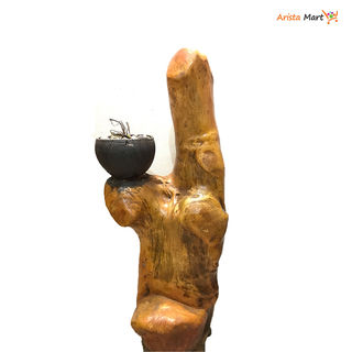 Wood Handicraft Pot