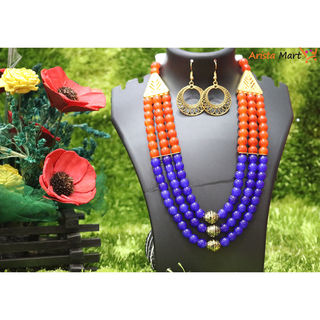 Colorful pearl metal set