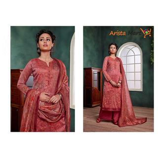 New Chanderi Three Piece
