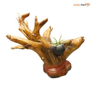 Wood Tree Pot