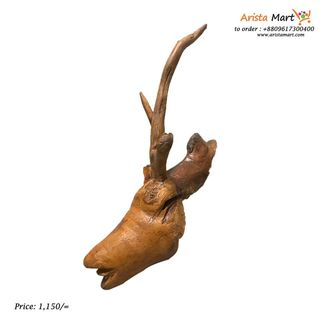 Deer Head Wooden For Wall