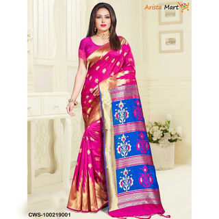 Attractive Banarasi Silk Sarees