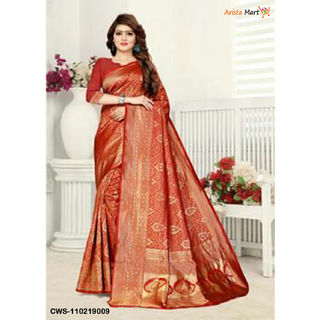 Stylish Banarasi Silk Saree