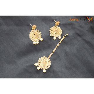 New Earing & Tikli Design