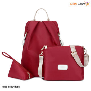 Multi-Functional Anti-Theft Female Backpack Shoulder Bag