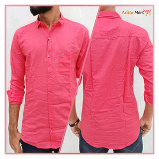 Men's Stylish Linen Blended Shirts